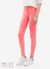 pantalones one size coral