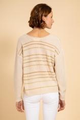 jersey rayas dorado