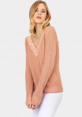 Jersey lencera escote